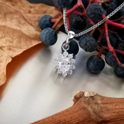 White Princess Necklace