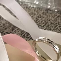 anello solitario uomo