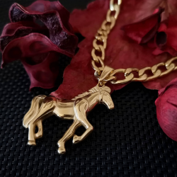 Necklace with Horse