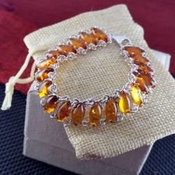 Bracelet with Amber