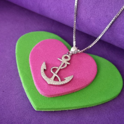Necklace with Anchor