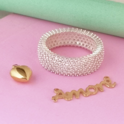 Ring with Glitter
